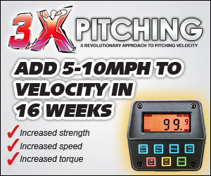 3x Pitching Velocity Program